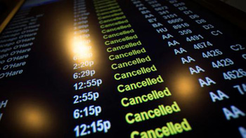 French Air Traffic Controllers Strike