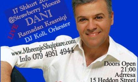 Festojme Pavarsine e Kosoves. 17 Shkurt 2010 Londer UK, LIVE 'DANI' Ramadan Krasniqi, Orkester DJ