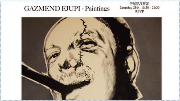 Gazmend Ejupi: paintings exhibition, 25 April 2009