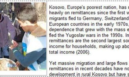 Bie niveli i parave të dërguara nga emigrantët në Kosovë