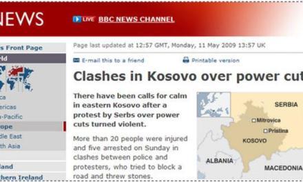 BBC përhapë informata të pasakta në lidhje me Kosovën