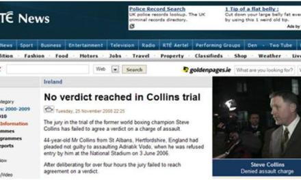 Shtyhet gjykimi i Steve Collins