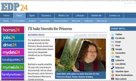 Biscuits for Princess by an Albanian immigrant