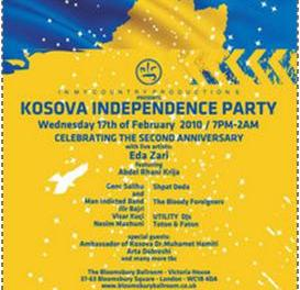 Eda Zari @ Kosova Independence Party