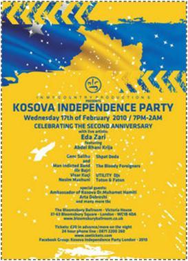 Eda Zari @ Kosova Independence Party