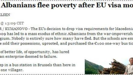 Valë e re e azilkërkuesve shqiptarë në Evropën Perëndimore