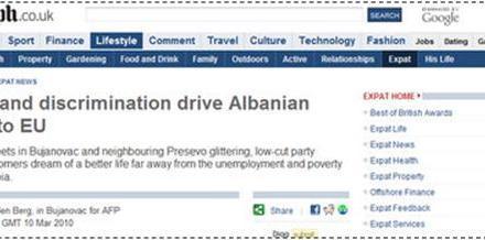 Telegraph: Poverty and discrimination drive Albanian exodus to EU
