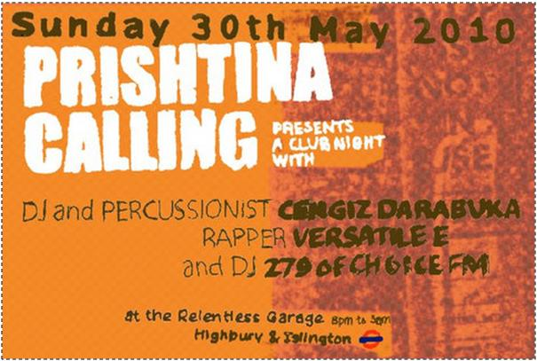 Prishtina Calling event in London, 30 May 2010