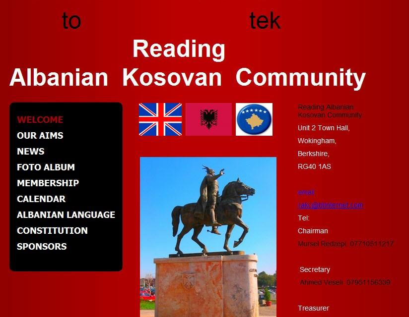 Koncert organizuar nga Reading Albanian Kosovan Community