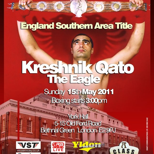 <!--:en-->Boxing: Kreshnik Qato (Left Jab) vs Gary Boulden, 15th May 2011 in London<!--:--><!--:sq-->Boks: Kreshnik Qato (Left Jab) vs Gary Boulden, 15 maj 2011 në Londër<!--:-->