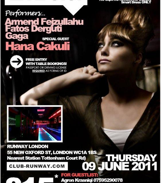 <!--:en-->Live Gig with Hana Cakuli, London, 09 June 2011<!--:--><!--:sq-->Live Gig me Hana Cakulin, Londër, 09 qershor 2011<!--:-->