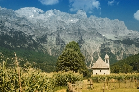 Accursed Mountains in Albania