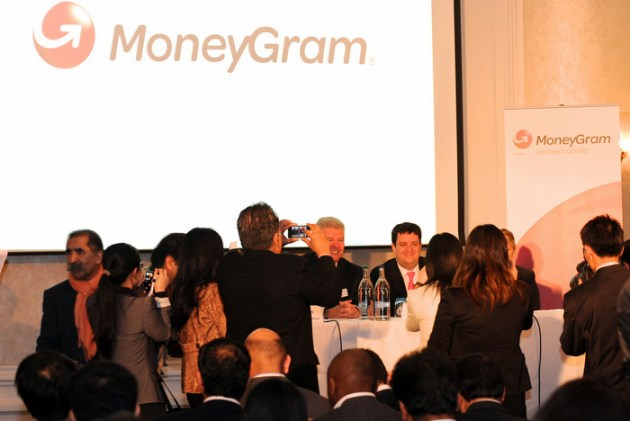 Moneygram press conference, 11 April 2012, London