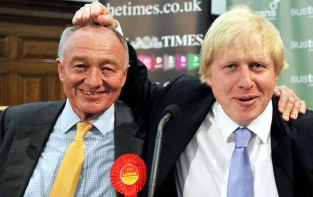 Boris vs Ken, London Mayor elections, 2012