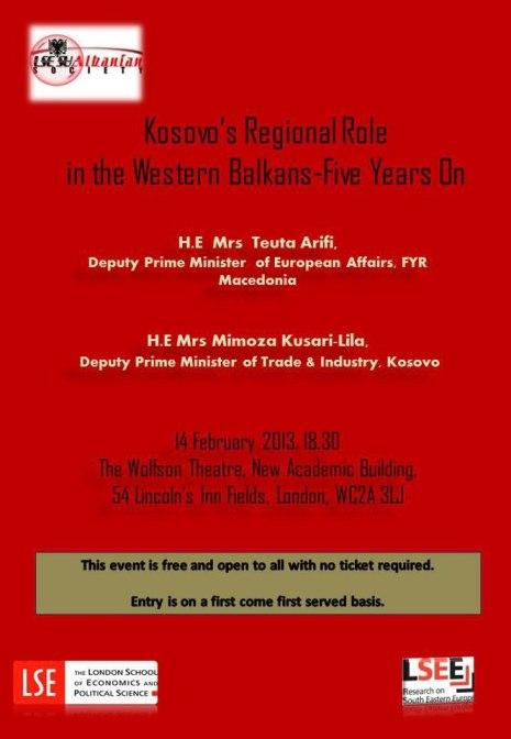 LSE event - 14 February 2013
