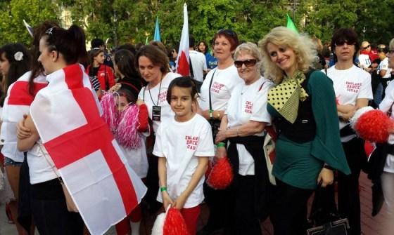 Shqiptaret përfaqësojnë Anglinë në garat ndërkombëtare të vallëzimit IDF WORLD CHAMPIONSHIP 2013