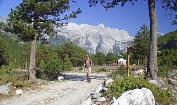 Daily Express: A walking holiday in beautiful Albania