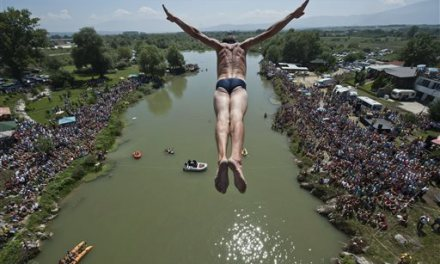 Kosovo diving competition among AP's 10 things to see