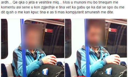 <!--:en-->Kosovari misterioz që punon dhe fle në metron e Londrës<!--:-->