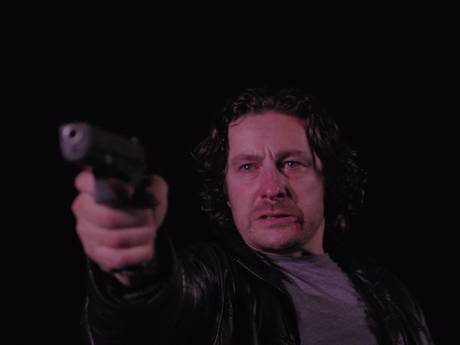 "Peter Ferdinando as Michael Logan in the British movie ""Hyena"" (2014)"