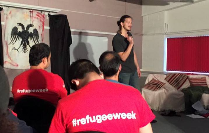 Refugee Week 2015:  'Sanctum', a play about a man based on real life accounts of Kosovo Albanian war refugees