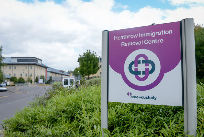 Heathrow Immigration Removal Centre where Henderson worked (SWNS)