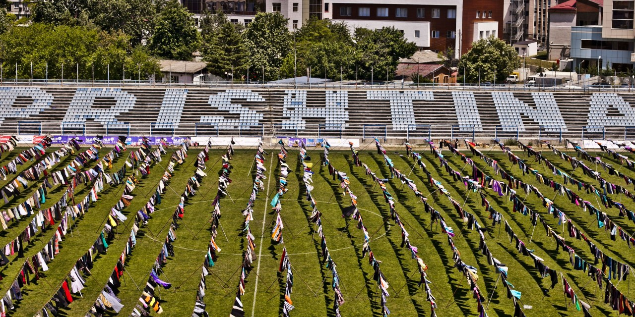 Kosovo art installation about war rape Albanian victims becomes viral