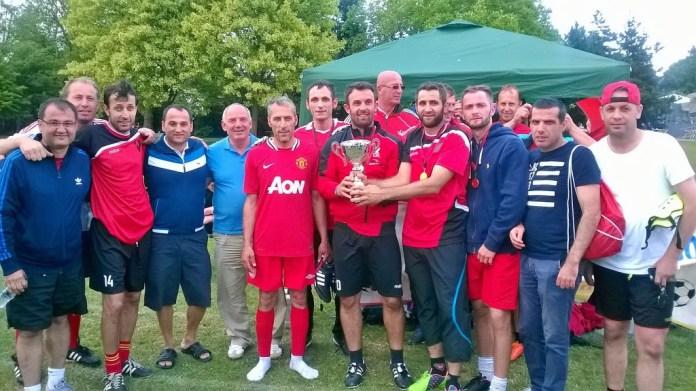 Ekipi Vetëvendosje, fituese e turnirit bamirës të mbajtur në Londër me 5 korrik 2015