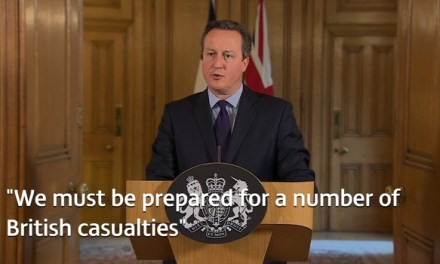 Prime Minister David Cameron's statement following the terrorist attack in Paris