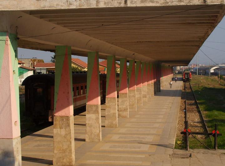 Tirana and Prishtina have Europe's quietest railway stations