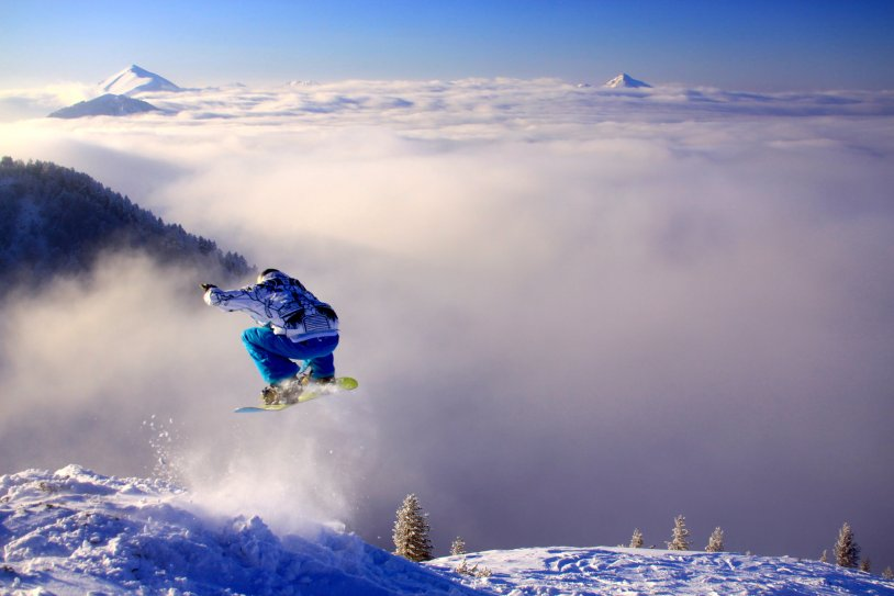 Skiing in Kosovo