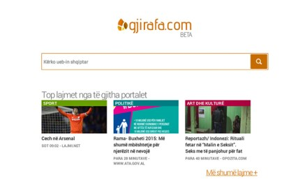 Kosovo's Gjirafa search engine scores $2M as Google fails 12 million Albanians