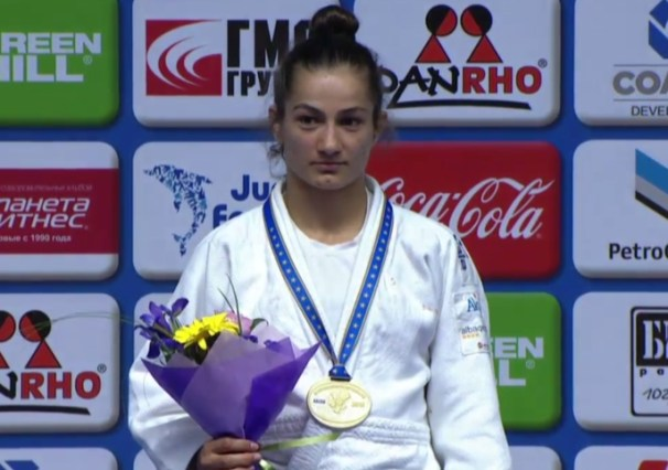 Kelmendi regains title at European Judo Championships after Kosovo flag row resolved