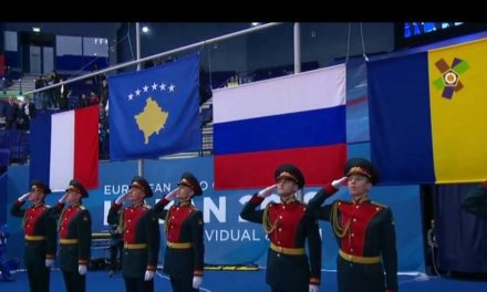 Russian soldiers forced to salute Kosovo flag at European Judo Championships