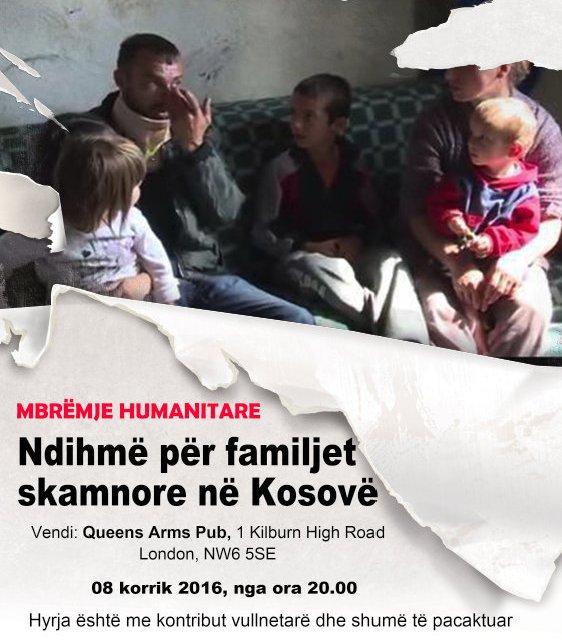Mbrëmje bamirësie Bajrami në Londër për familjet skamnore të Kosovës, 8 korrik 2016