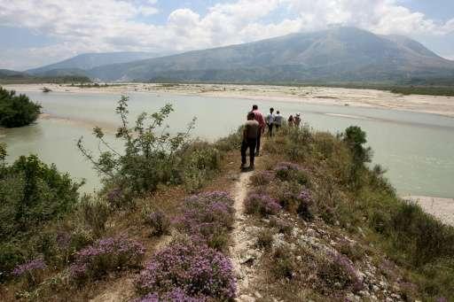 Anger as Albania to dam Vjosa, Europe's 'wildest river'