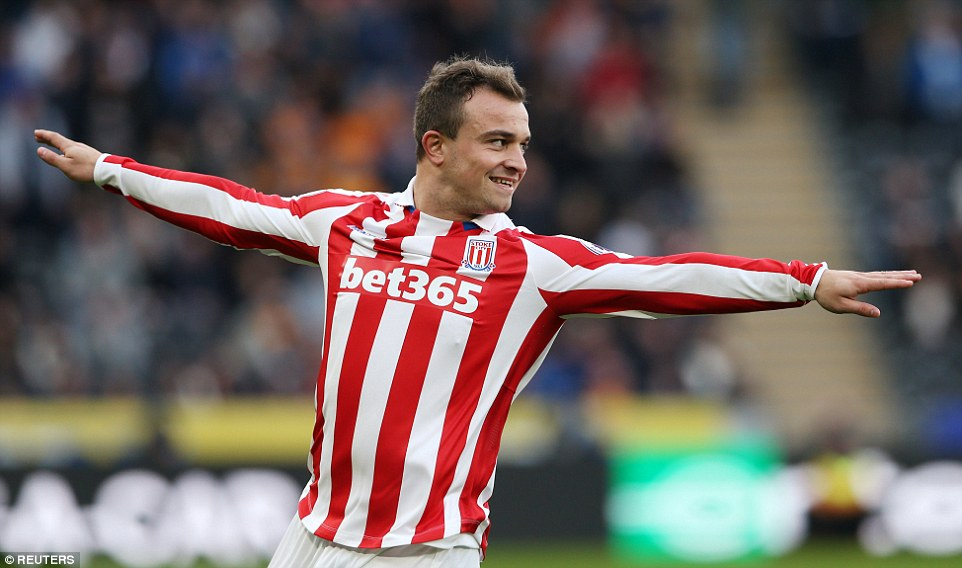 Daily Mail: Xherdan Shaqiri masterclass leaves Hull City with tails between their legs