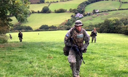 Kosovo Security Force (FSK) wins gold medal at Exercise Cambrian Patrol 2016 in Wales