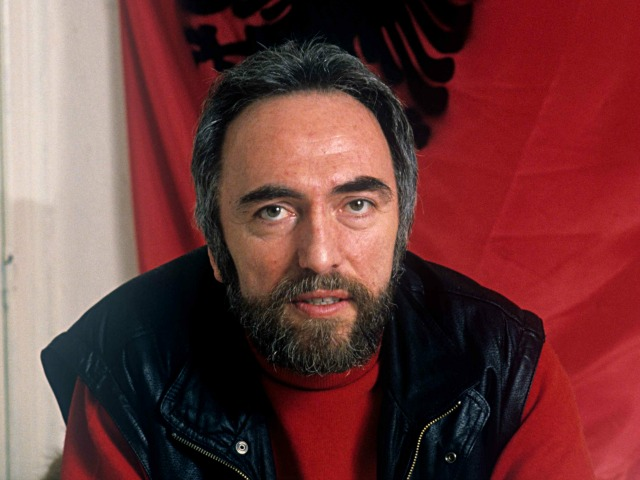 Enver Hadri, a Kosovo Albanian rights activist who was assassinated in Brussels on February 25, 1990.