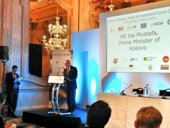 UK/US-Kosovo Trade & Investment Forum, 3 November 2016, London