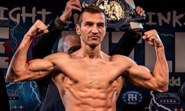 European lightweight champion Tatli has his eyes set on world title fight in 2017