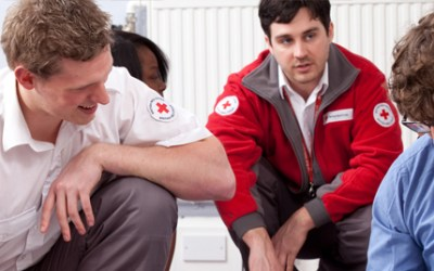 An Albanian volunteer for British Red Cross is needed in London