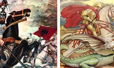 Today is the anniversary of Skanderbeg's birth and Albanian Saint George's day