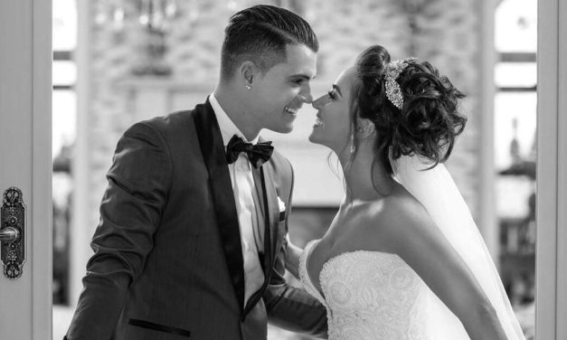 The Albanian football star Granit Xhaka, marries Leonita Lekaj in lavish ceremony
