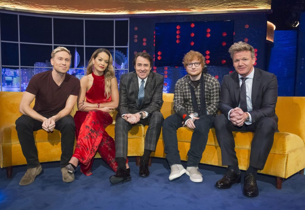 The Jonathan Ross Show has an all star line-up