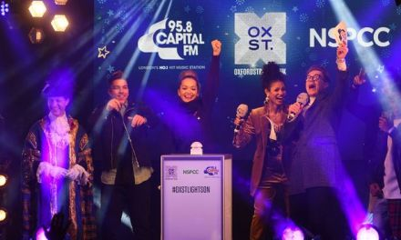 Rita Ora switches on Oxford Street Christmas lights 2017 (Video)