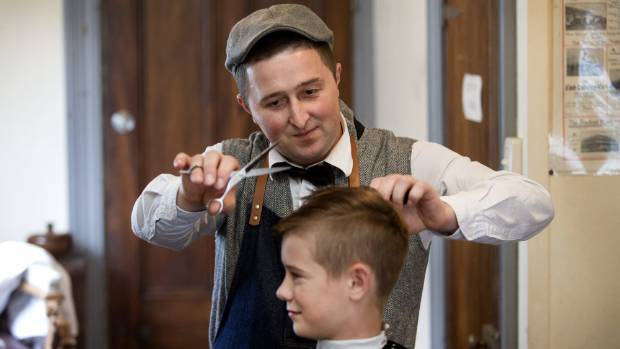 Arber the Albanian barber who lived through the Kosovo war and now cuts hair in New Plymouth