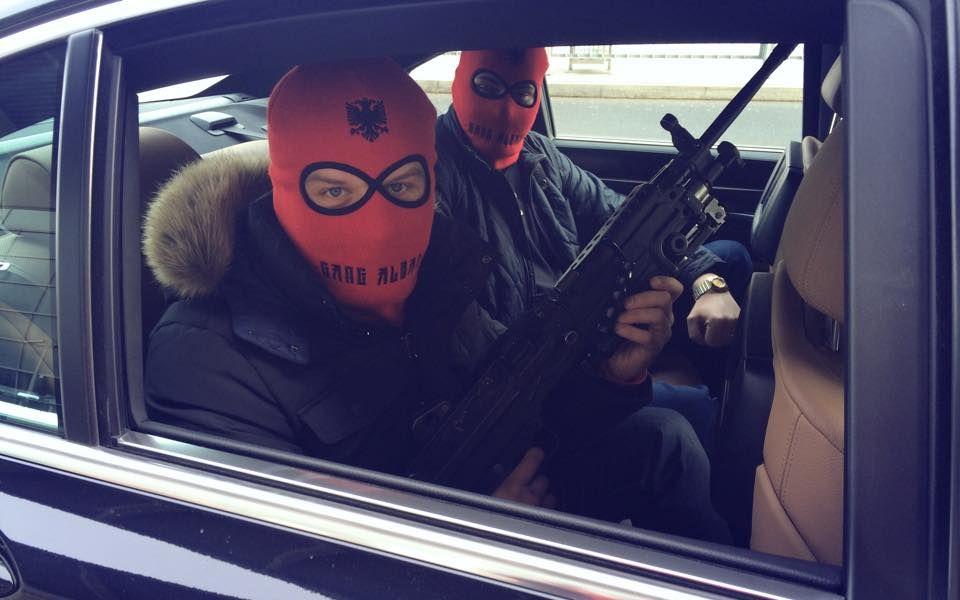 "An illustrative image about Albanian ""mafia"""