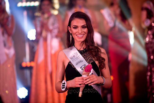 Fatime Gashi, 21, was named Miss Manchester after entering the local beauty pageant at the last minute