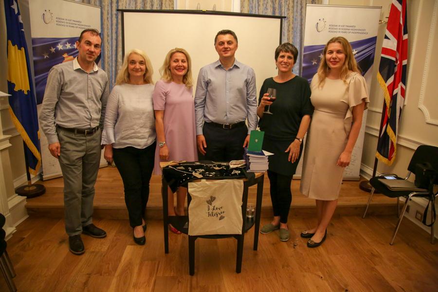 An evening celebrating the ancient Kosovan art of filigree, Kosovo Embassy in London, 26 June 2018
